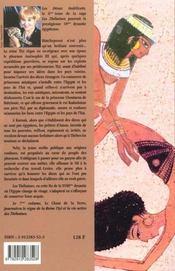 Les thebaines t.6 ; les dieux indelicats - 4ème de couverture - Format classique