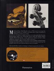 La légende du violon - 4ème de couverture - Format classique