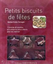 Coffret petits biscuits de fêtes - Couverture - Format classique