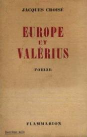 Europe et valerius - Couverture - Format classique