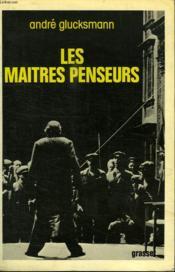 Les Maitres Penseurs. - Couverture - Format classique