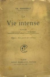 La Vie Intense. - Couverture - Format classique