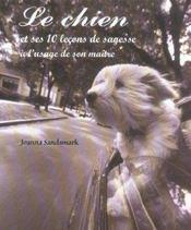 Le chien et ses 10 leçons de sagesse à l'usage de son maître - Intérieur - Format classique