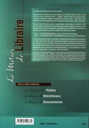 Le métier de libraire t.2 ; la production de l'assortiment - 4ème de couverture - Format classique