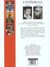 Bob Morane ; intégrale t.9 ; épouvante et soucoupes - 4ème de couverture - Format classique