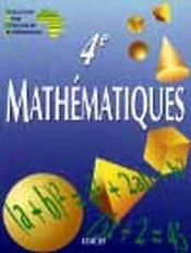 Mathematiques 4eme Ciam
