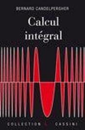 Calcul intégral - Couverture - Format classique