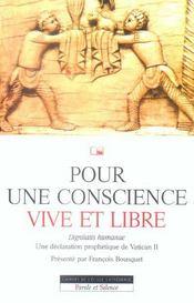 Pour Une Conscience Vive Et Libre N53 - Intérieur - Format classique