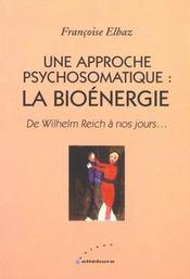 Bioenergie - Approche Psychosomatique - Intérieur - Format classique