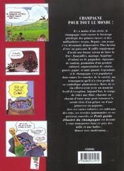 Le Petit Guide Illustre Du Champagne - 4ème de couverture - Format classique