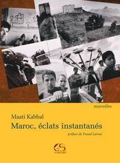 Maroc, éclats instantanés - Intérieur - Format classique