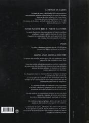 Grand atlas mondial illustre - 4ème de couverture - Format classique