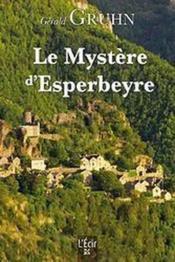 Le mystère d'Esperbeyre - Couverture - Format classique