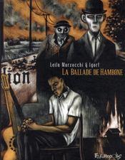 La ballade de Hambone t.1 - Couverture - Format classique