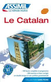 Le catalan ; débutants et faux-débutants B2 - Couverture - Format classique
