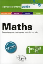 telecharger Maths 1res Sti2d Stl Conforme Au Programme 2011 Resumes De Cours Exercices Et Controles Corriges livre PDF/ePUB en ligne gratuit