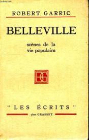 Belleville.Scene De La Vie Populaire. - Couverture - Format classique