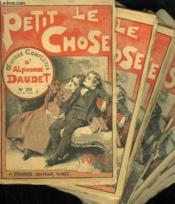 Lot De 23 Fascicules. Le Petit Chose. Oeuvres Completes D'Alphonse Daudet. N° 30 Au N° 44. N° 34 - 35 - 36 - 37 - 39 - 42 - 43 En Double Exemplaire. - Couverture - Format classique