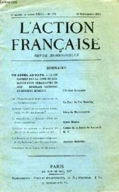 L'Action Francaise Tome Xxiii N°174 - Couverture - Format classique