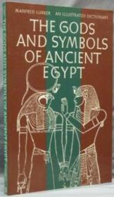 Illustrated Dictionnary Gods Egypt /Anglais - Couverture - Format classique