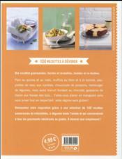 Zéro gluten ; 100% gourmand - 4ème de couverture - Format classique