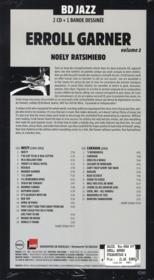 Erroll Garner t.2 - 4ème de couverture - Format classique