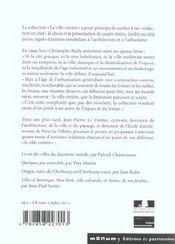Dingos - Cherbourg-Est-Cherbourg-Ouest - 4ème de couverture - Format classique