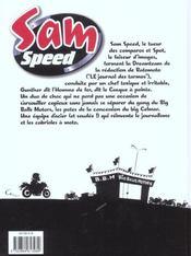 Sam Speed T.1 ; Gaz A Tous Les Etages - 4ème de couverture - Format classique