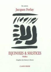 Equinoxes et solstices - Couverture - Format classique