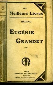 Eugenie Grandet.Tome 1. Collection : Les Meilleurs Livres N° 5. - Couverture - Format classique
