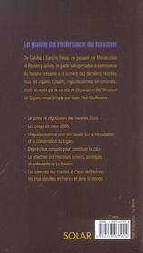 Havanoscope 2005 - 4ème de couverture - Format classique