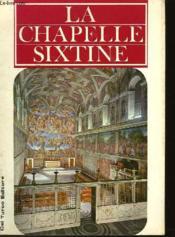 La Chapelle Sixtine - Couverture - Format classique