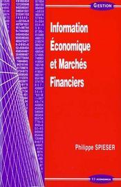 Information Economique Et Marches Financiers - Intérieur - Format classique
