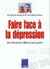 Faire Face ; A La Dépression - Intérieur - Format classique