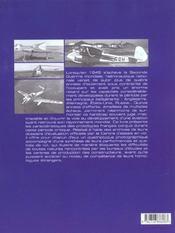 Prototypes De L'Aviation Francaise 1945-1960 - 4ème de couverture - Format classique