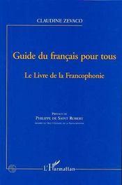 Guide du français pour tous ; le livre de la francophonie - Intérieur - Format classique