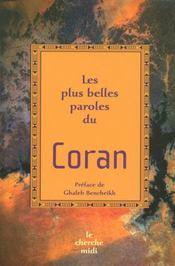 Les plus belles paroles du Coran - Intérieur - Format classique