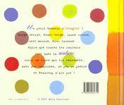 Toutes les couleurs sont dans la nature - 4ème de couverture - Format classique
