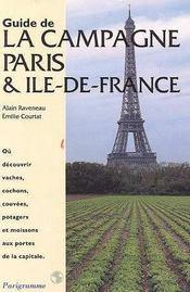 Guide de la campagne Paris et Île-de-France - Intérieur - Format classique