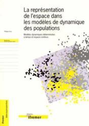 La Representation De L'Espace Dans Les Modeles De Dynamique Des Populations.Mode - Couverture - Format classique