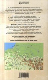 Pyrénées t.4 ; Béarn et pays basque ; 120 balades et randonnées à pied, à VTT, à vélo - 4ème de couverture - Format classique