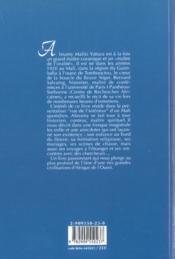 Almamy1:une jeunesse sur les rives du... - 4ème de couverture - Format classique