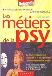 Metiers De La Psy - Intérieur - Format classique