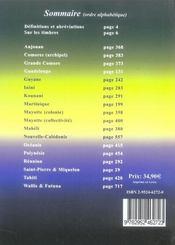 Catalogue Dallay ; timbres des Dom-Tom - 4ème de couverture - Format classique