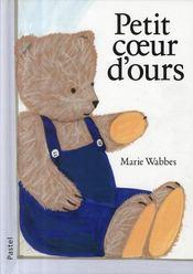 Petit coeur d'ours - Couverture - Format classique