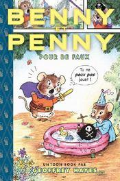 Toon books ; Benny et Penny pour de faux - Couverture - Format classique