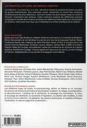 Recherche & création ; investigation systématique et étude de diverses ressources - 4ème de couverture - Format classique
