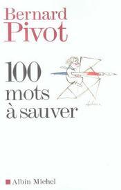 100 mots à sauver - Intérieur - Format classique