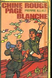 Chine Rouge Page Blanche. - Couverture - Format classique