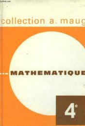 Mathematiques Classe De 4° - Couverture - Format classique
